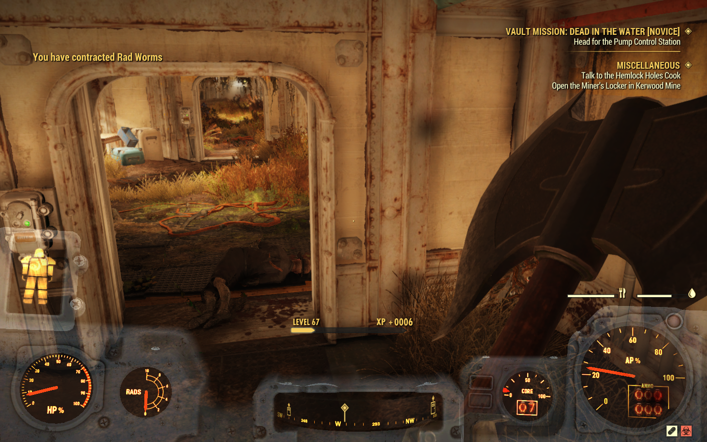 Fallout 76's new plant-infested Vault 94 is a bolthole for masochists