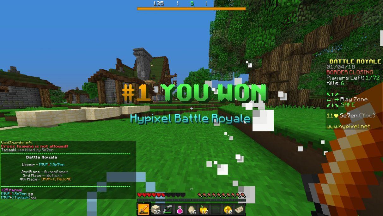Minecraft servers - Best Minecraft minigame servers - Hypixel
