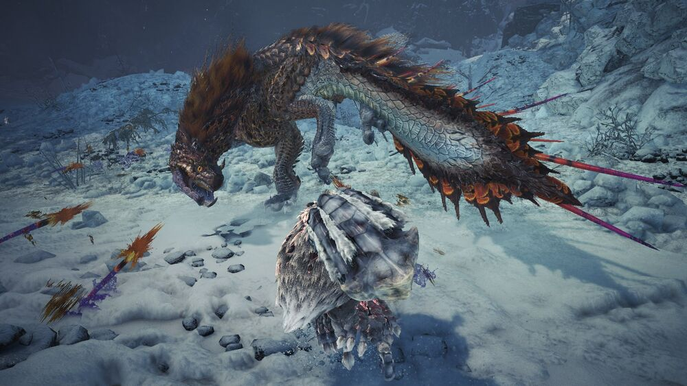 Monster Hunter World Iceborne Viper Tobi-Kadachi