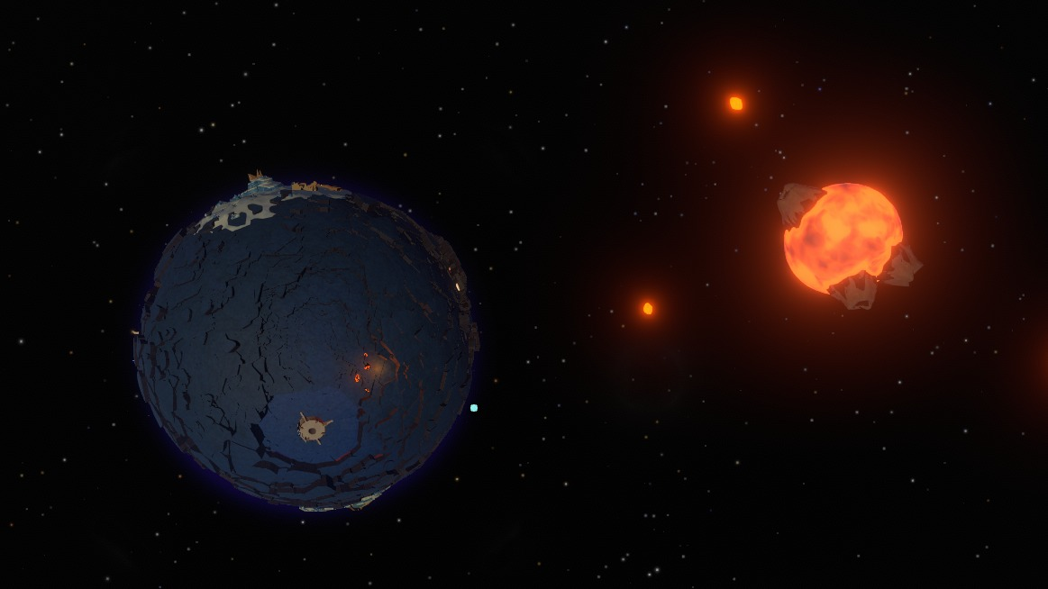 How Outer Wilds built a planet which falls apart