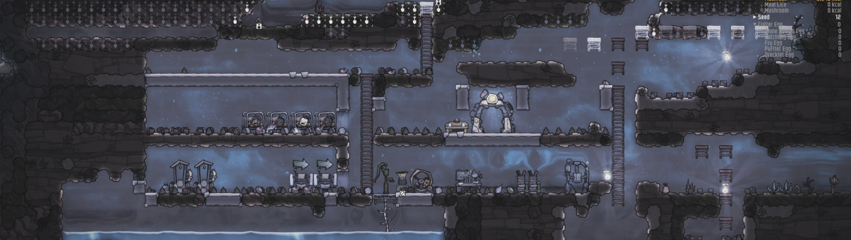 Oxygen Not Included guide - Cycle 3 end