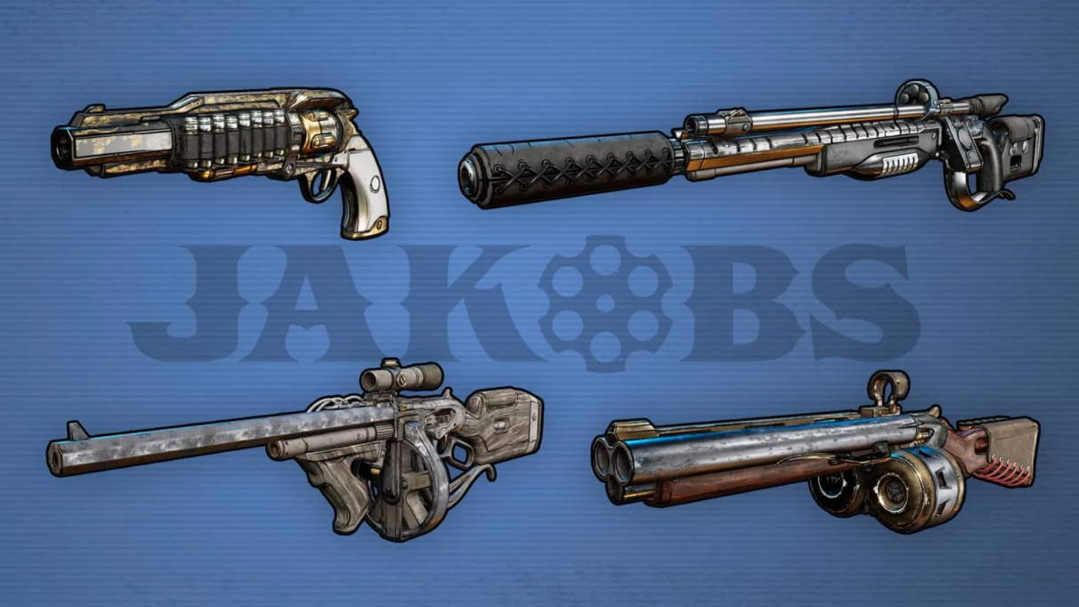Borderlands 3 weapons manufacturers & types