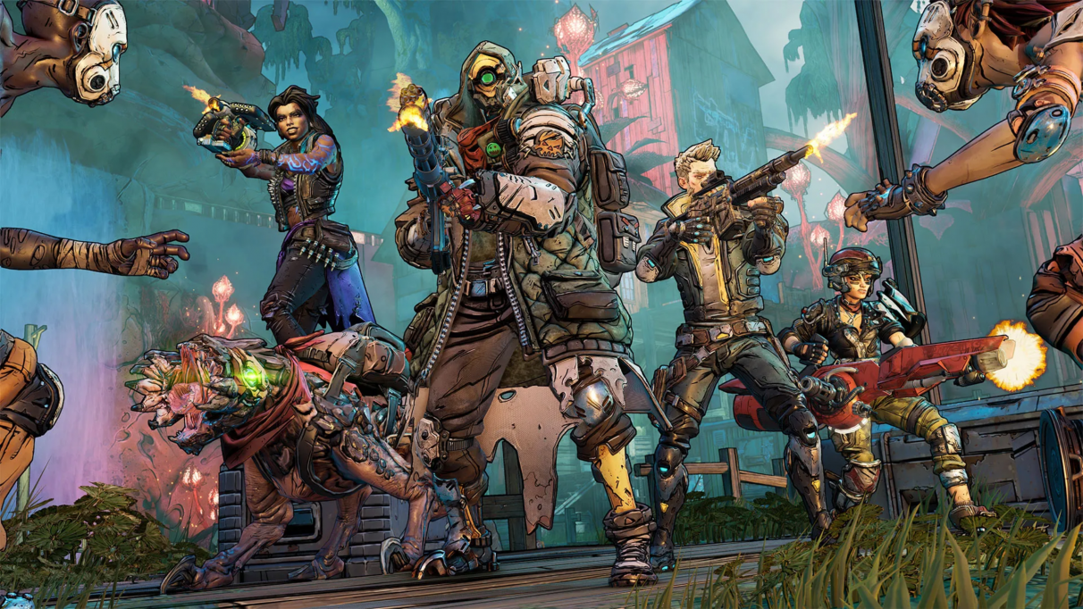 Borderlands 3 characters & skill trees: Amara, FL4K, Moze, and Zane