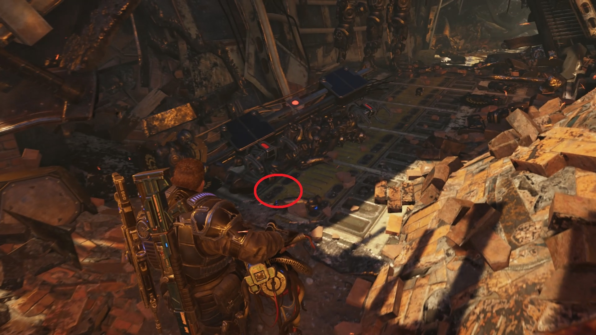Gears 5 - Fallen Gear at Condor Crash