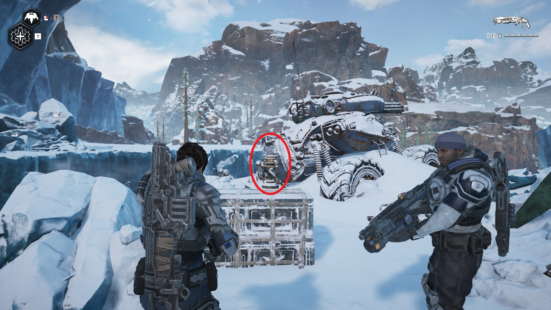 Gears 5 - Letter to Momma