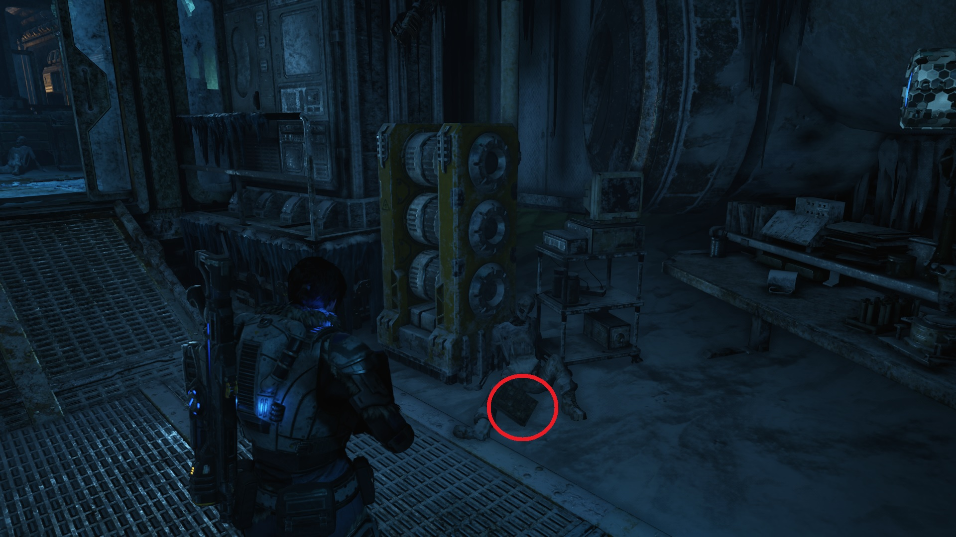 Gears 5 - Lexigram Board
