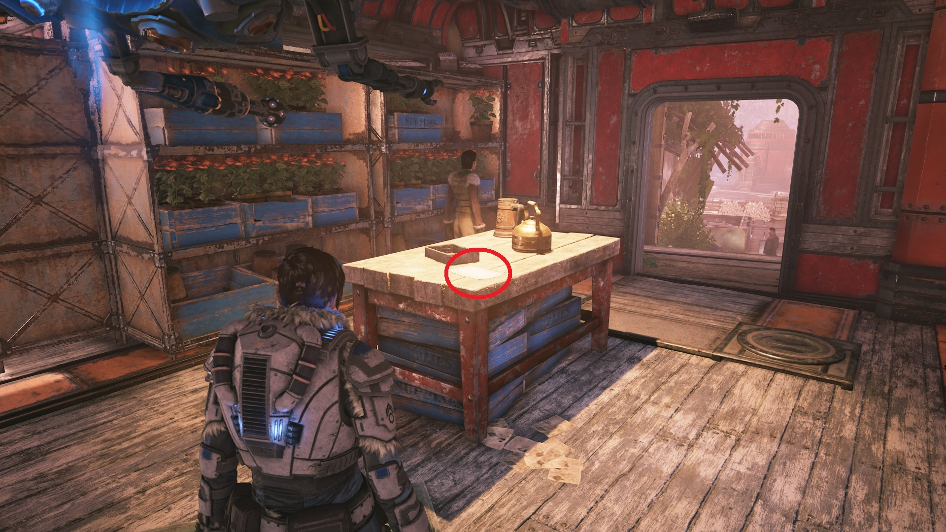 Gears 5 - Note to the Chief