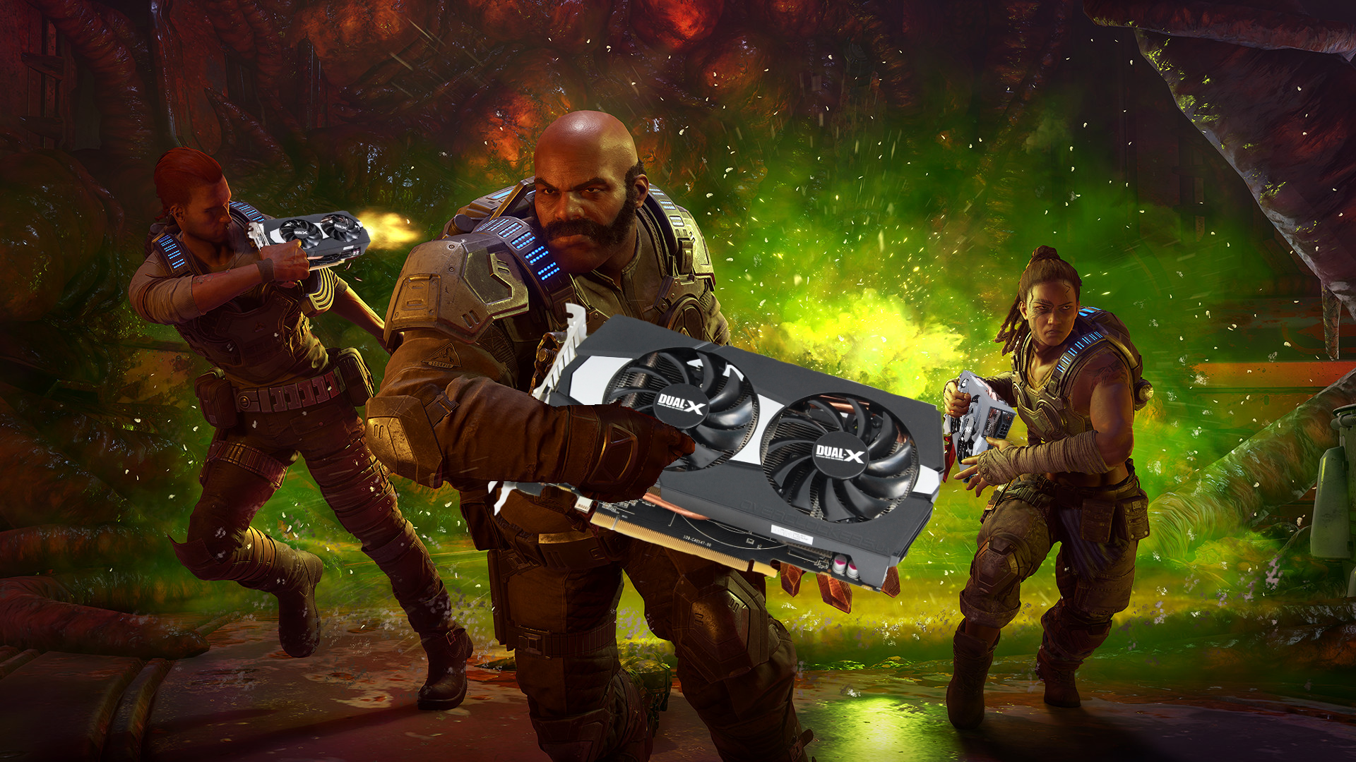 How to get Gears 5 looking its smoothest, bestest best even on a piddly AMD R9 270
