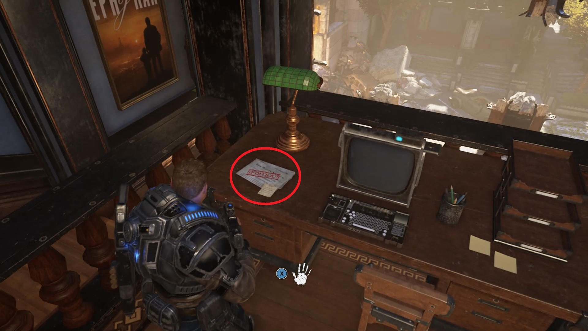 Gears 5 - Seditious Literature