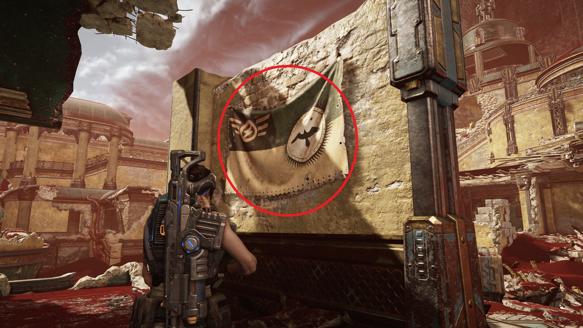Gears 5 - Well-worn Vasgari Flag