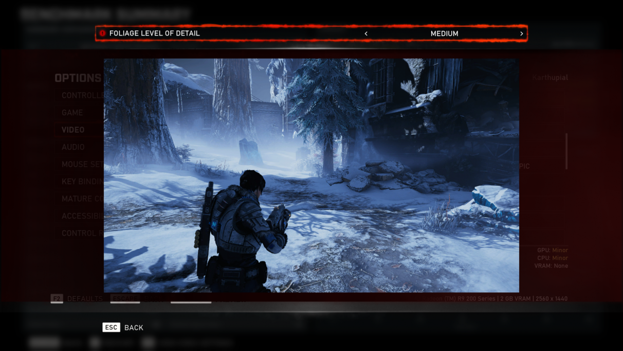 How to get Gears 5 running smoothly at 1080p even on a