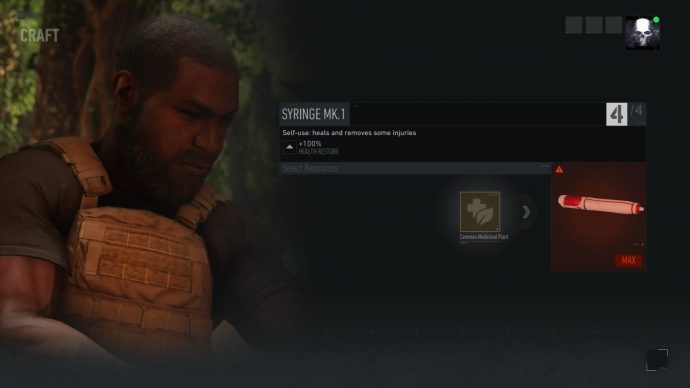 Ghost Recon Breakpoint crafting