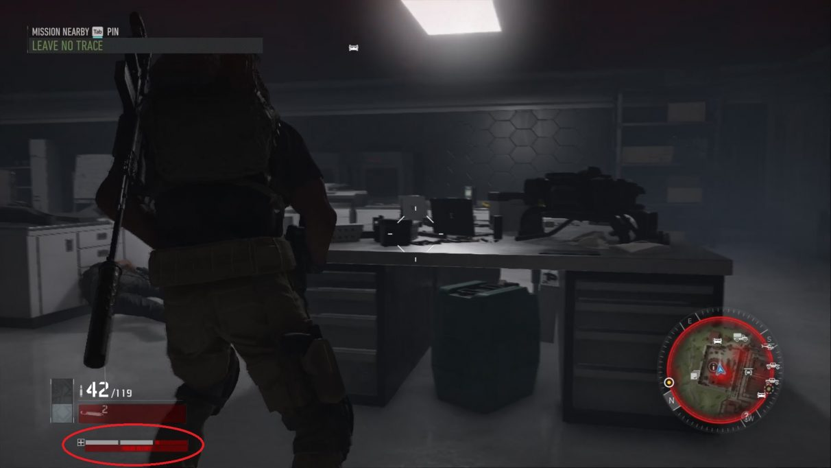 Ghost Recon Breakpoint health bar