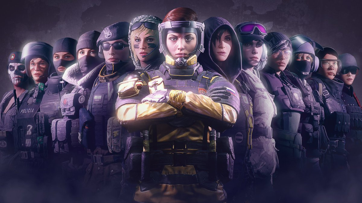 CCS Women's League hopes to fix Rainbow 6 Siege's lack of female pros