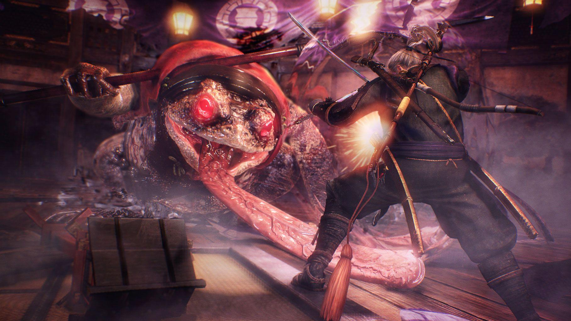 Nioh, one of the best games like Dark Souls.