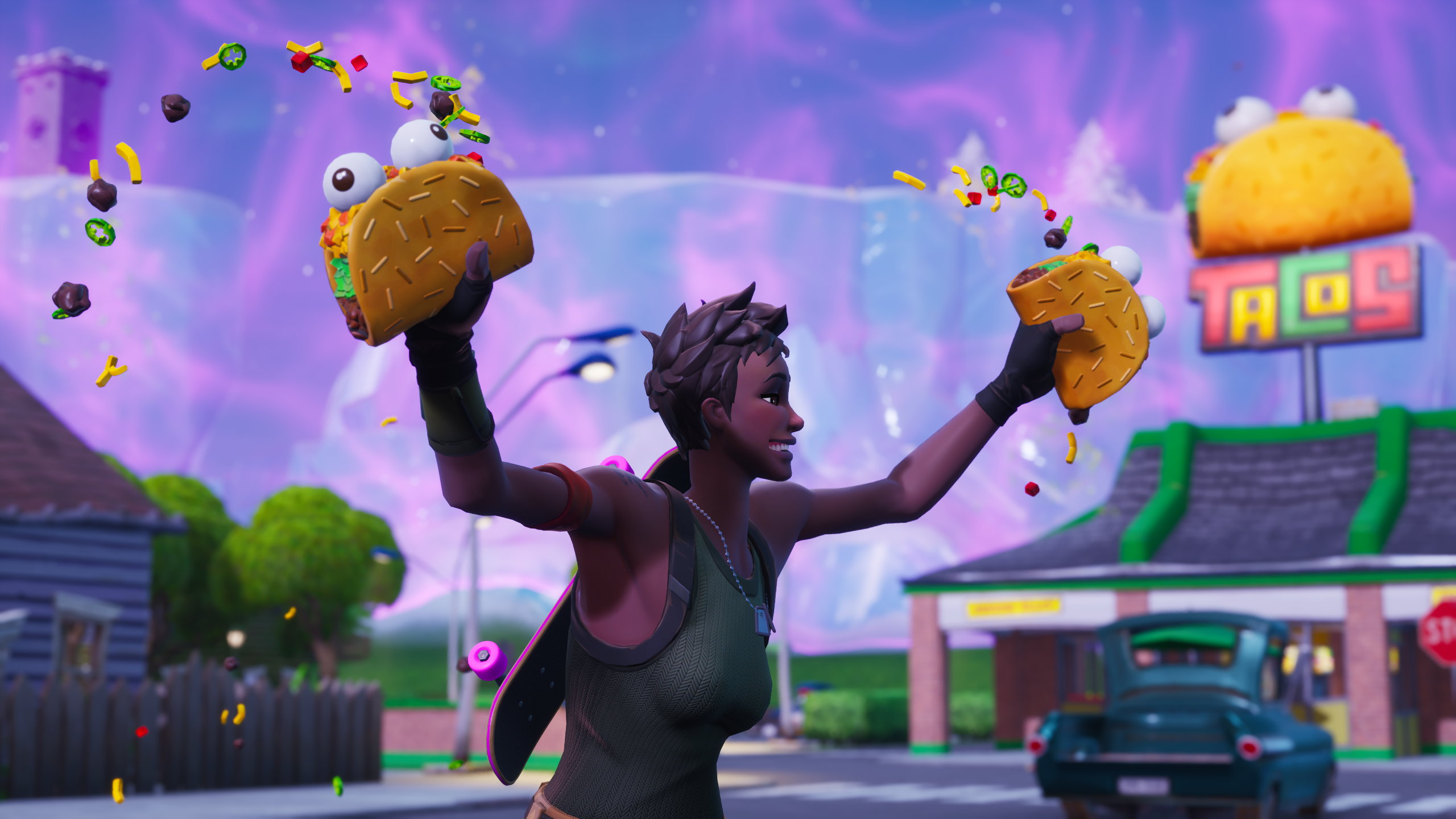 Fortnite Plays Prop Hunt And Scoffs Tacos In New Zones