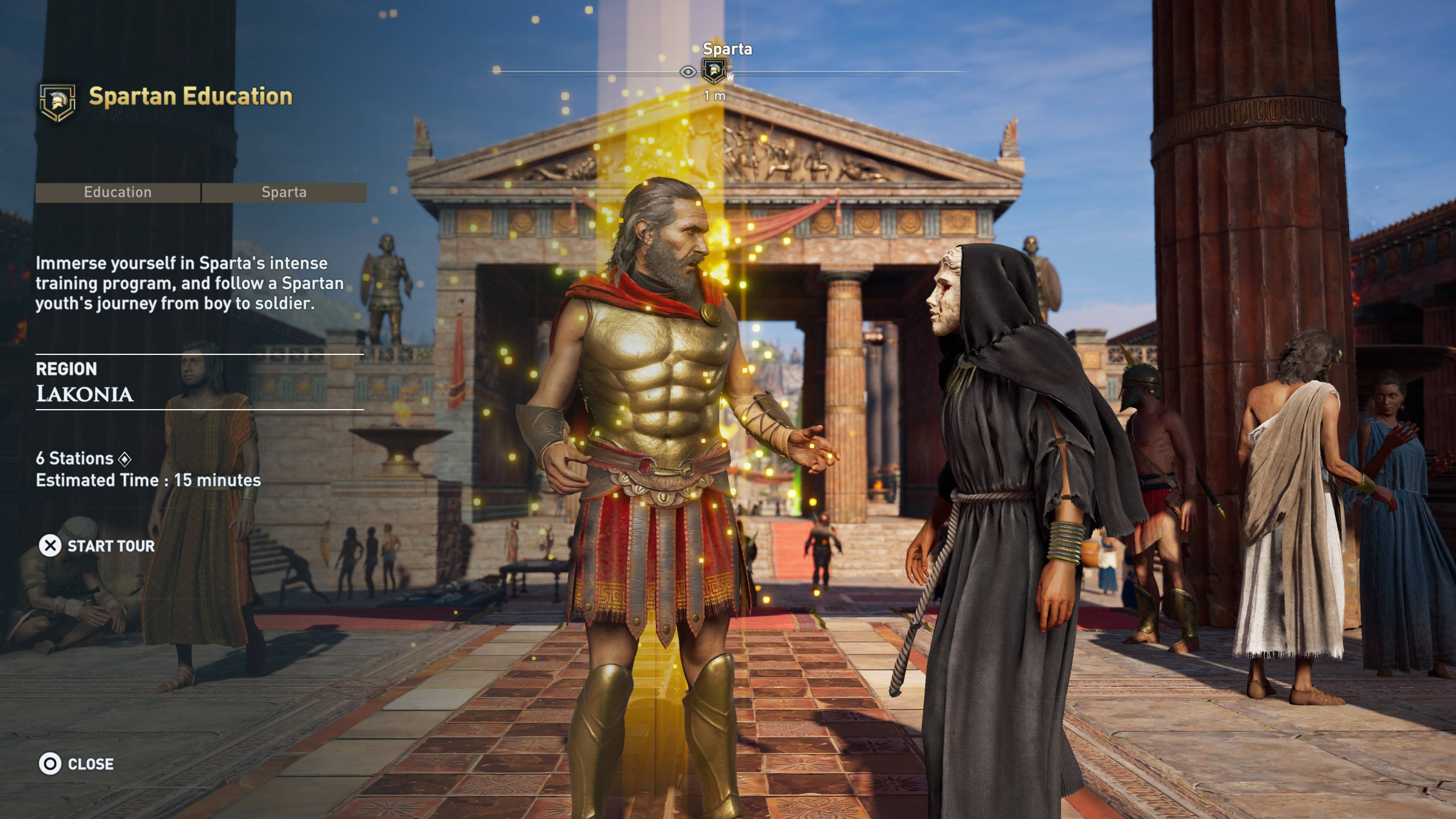 Assassin S Creed Odyssey Adds Discovery Tour Rock Paper Shotgun