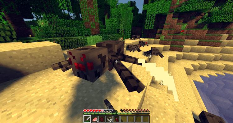 Mods Minecraft 1.14 - Combat classique
