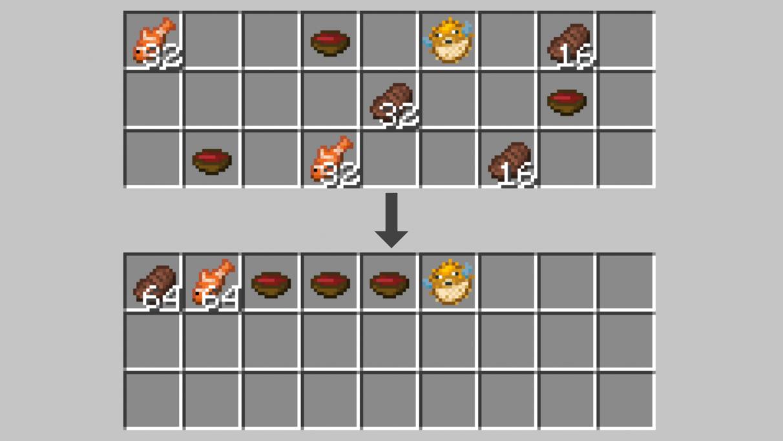 Minecraft mods 1.14 - Trieur d'inventaire
