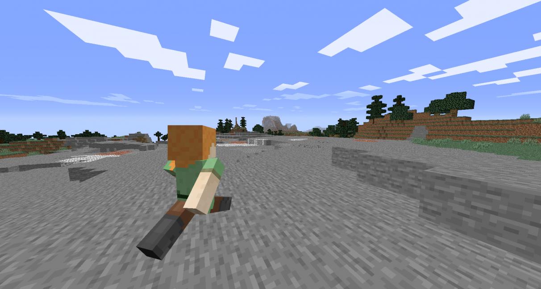 Mods Minecraft 1.14 - Surf d'épaule rechargé