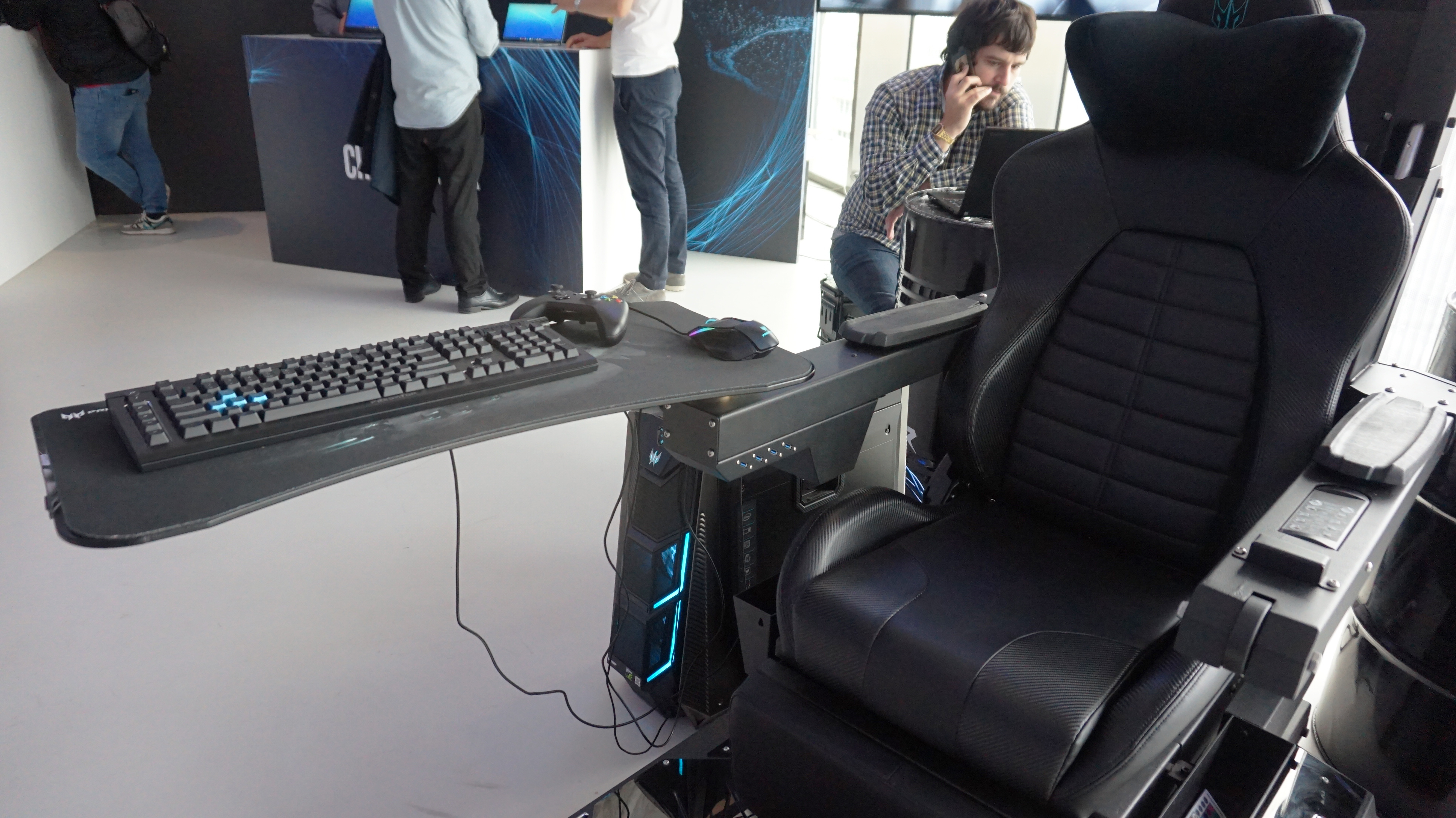 Acer S Thronos Is From A Future Where Gaming Chairs Have Enslaved Humanity Rock Paper Shotgun