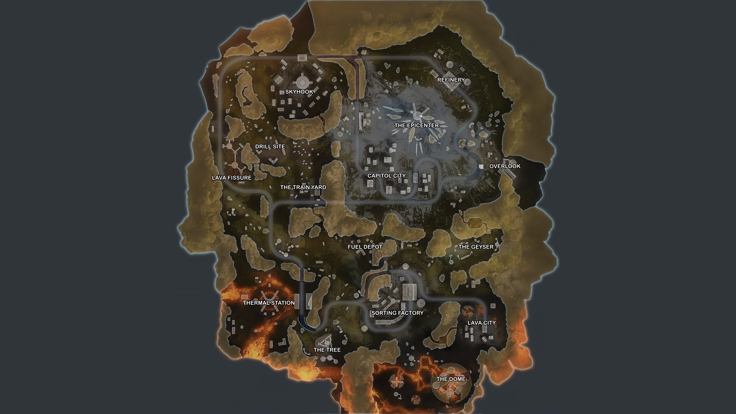 Apex Legends map guide (Season 3) – World's Edge best locations and loot