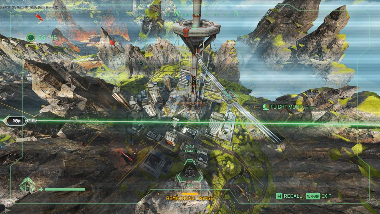 Apex Legends map locations - Skyhook