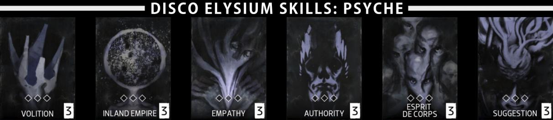 Disco Elysium skills - Psyche