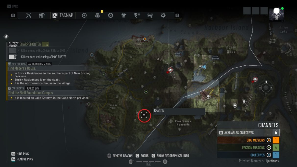 Ghost Recon Breakpoint NVG 2 map