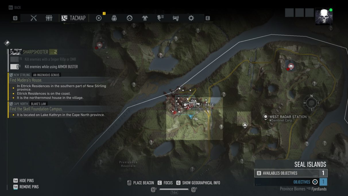 Ghost Recon Breakpoint bipod map location