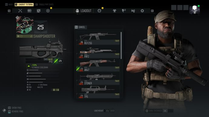 Ghost Recon Breakpoint guns