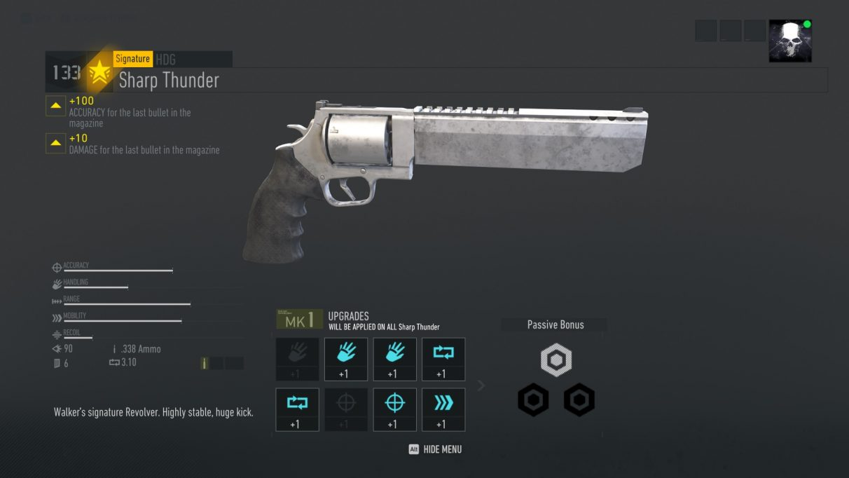 Ghost Recon Breakpoint sharp thunder
