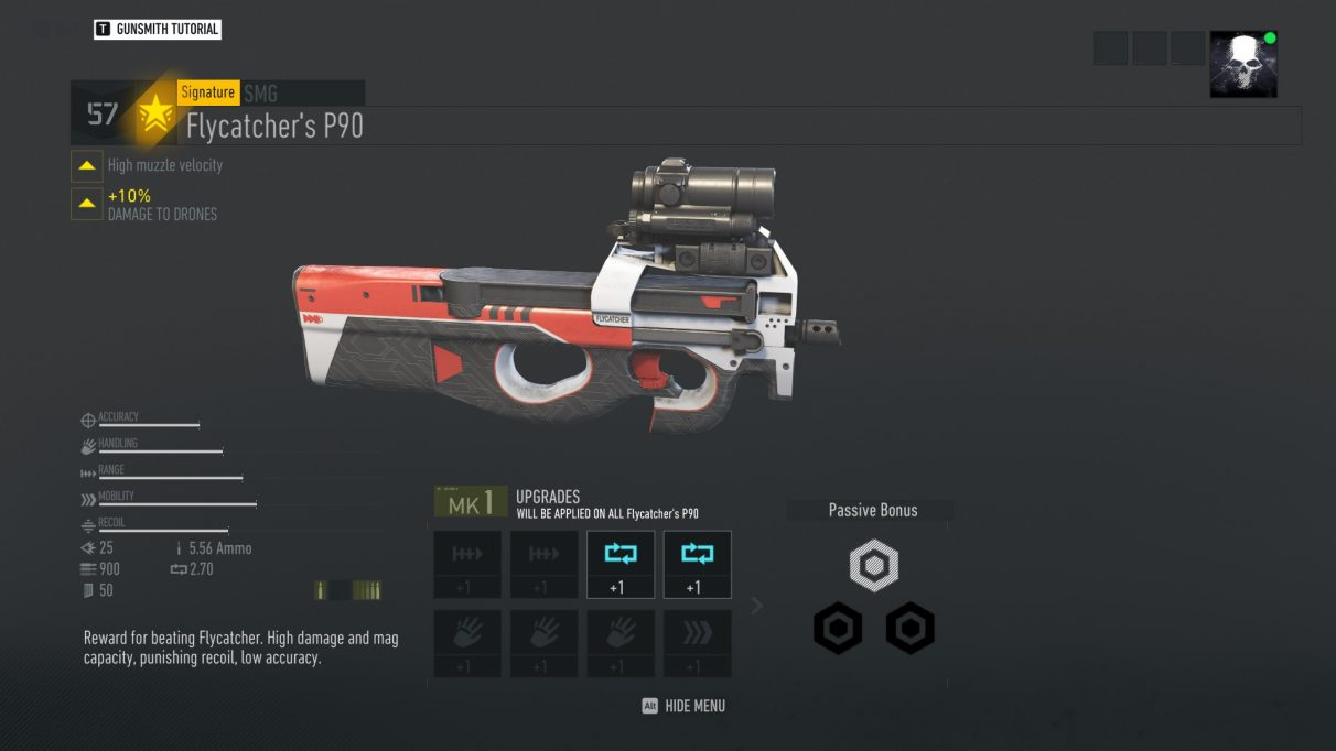 Ghost Recon Breakpoint signature weapon