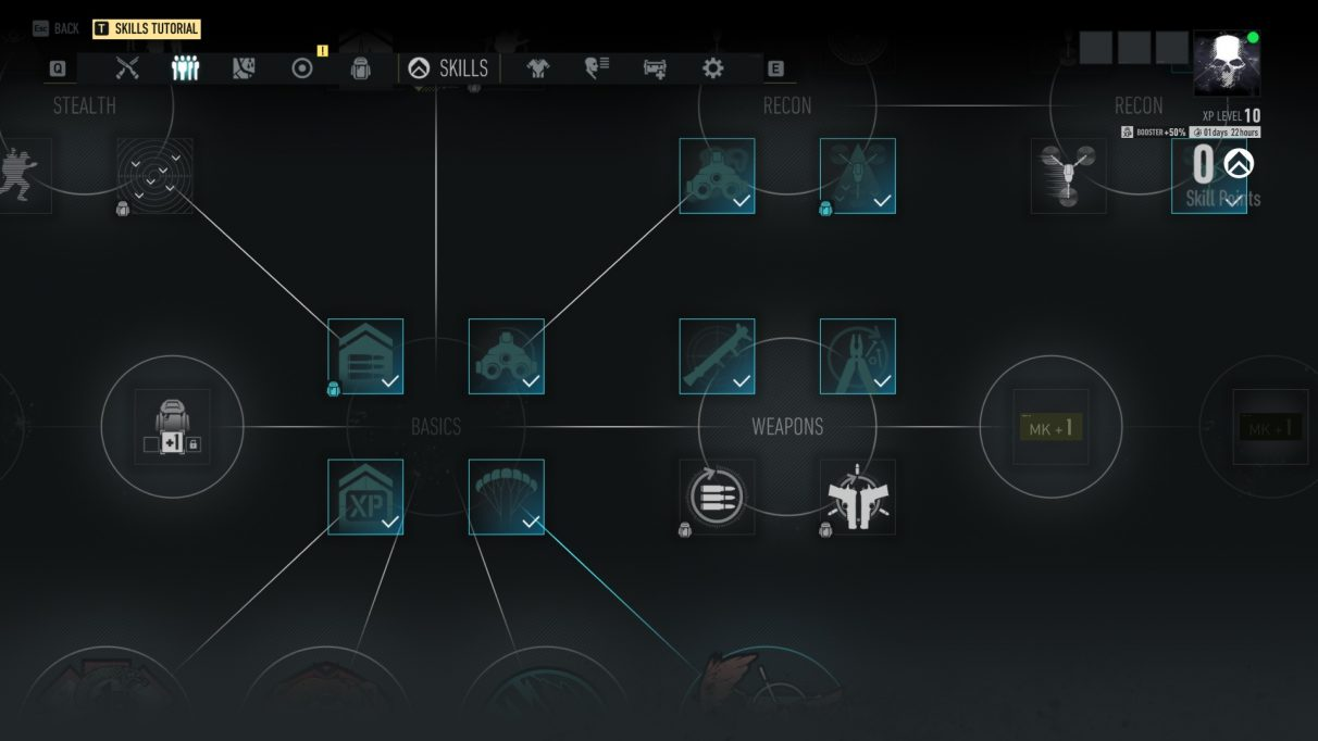 Ghost Recon Breakpoint skills