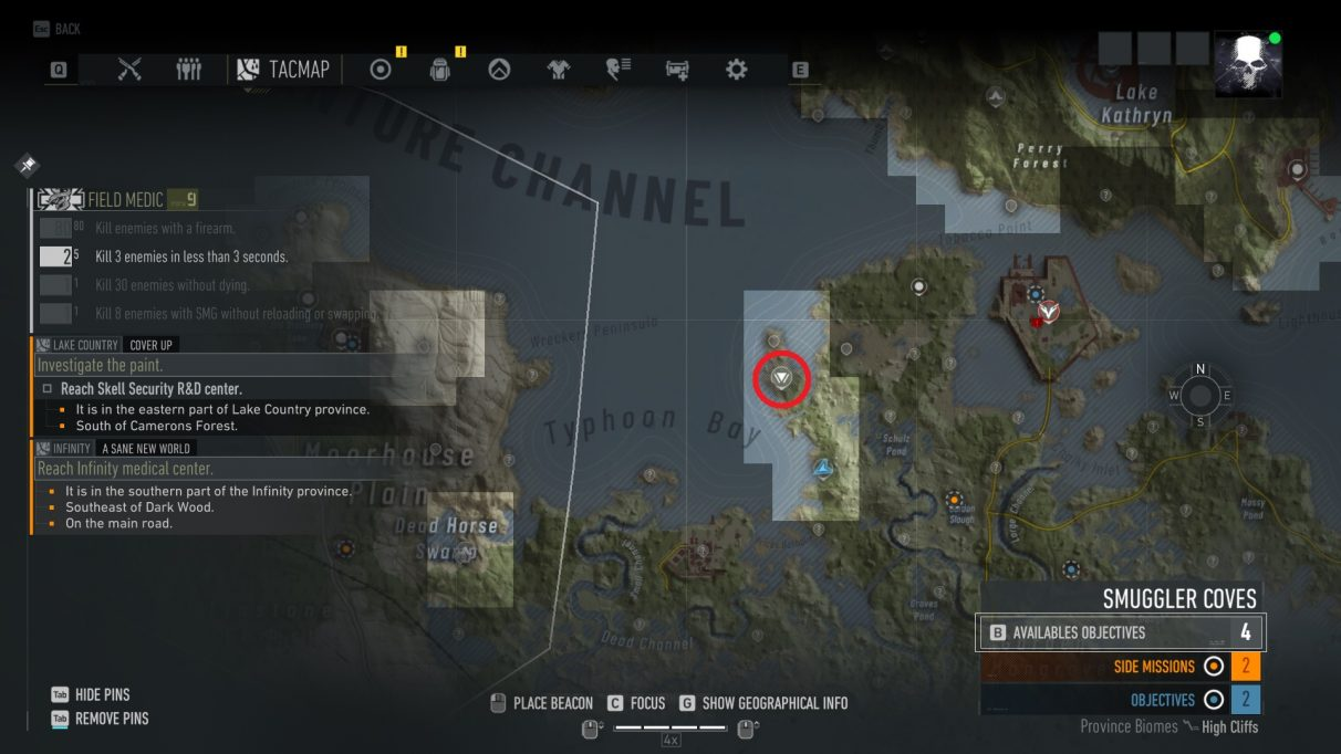 Ghost Recon Breakpoint standard weapon part farming location