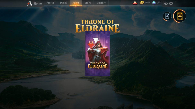 MTG Throne of Eldraine booster