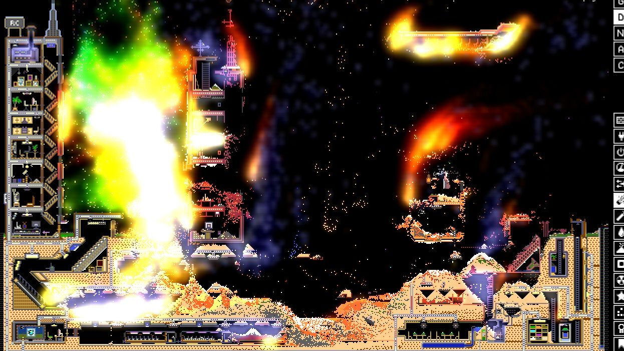 From falling sand to Falling Everything: the simulation games that inspired Noita