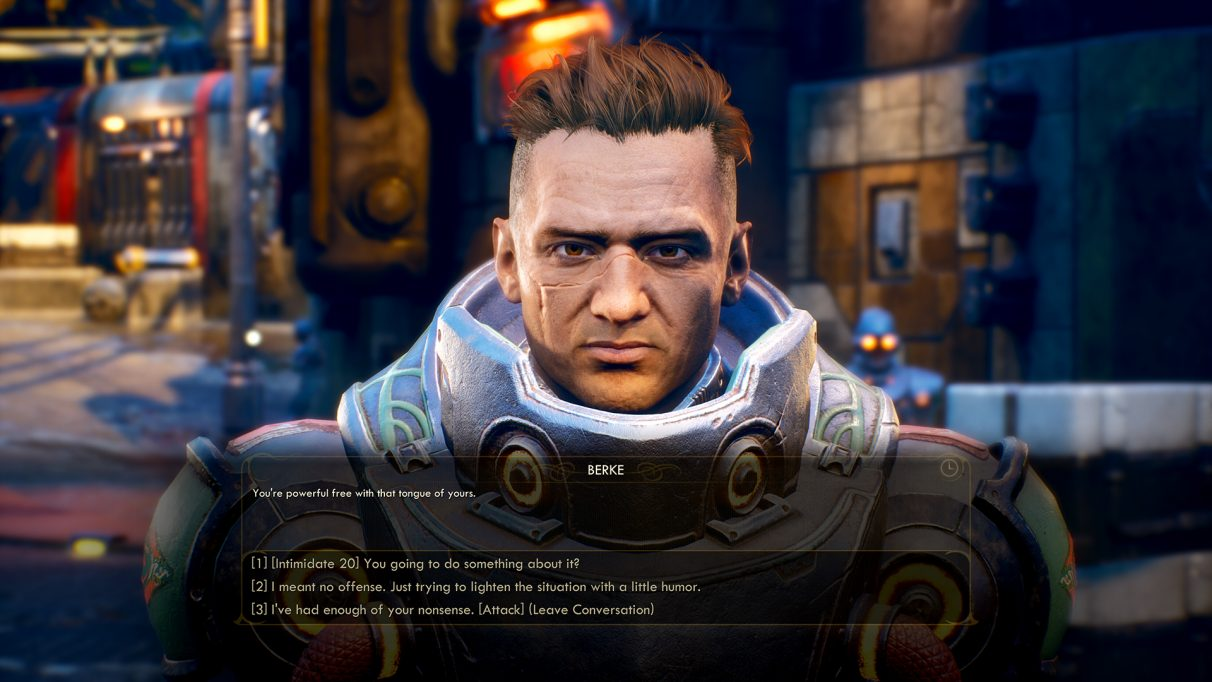 The Outer Worlds skills - Dialog skills