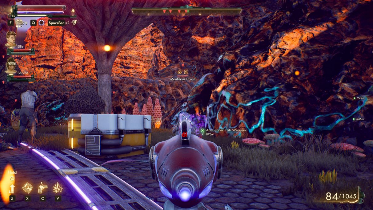 The Outer Worlds science weapon locations