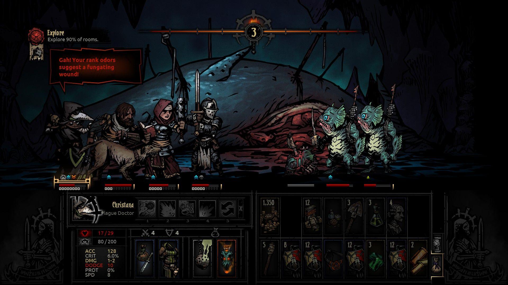 Darkest Dungeon - Best RPGs