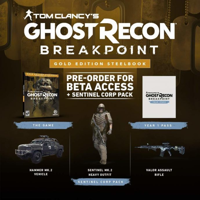ghost recon breakpoint gold