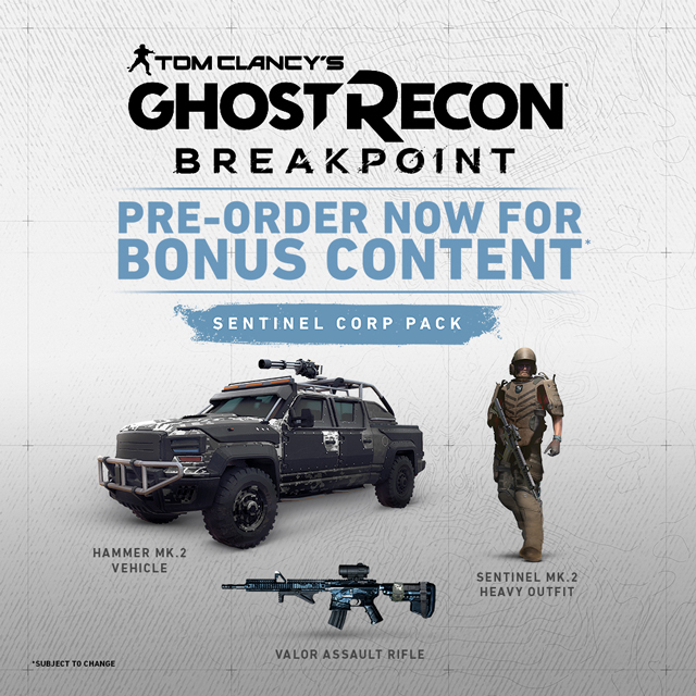 ghost recon breakpoint preorder