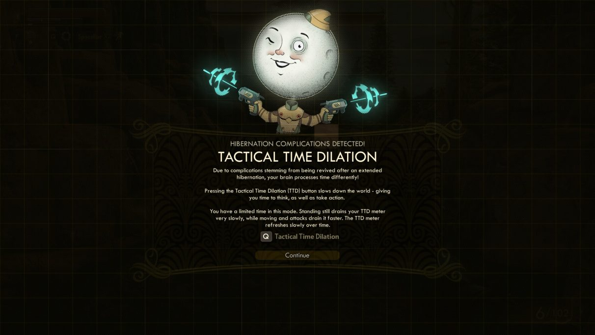 the outer worlds tactical time dilation