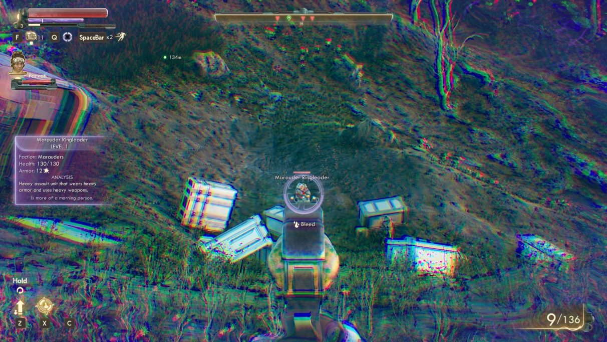the outer worlds ttd bleed