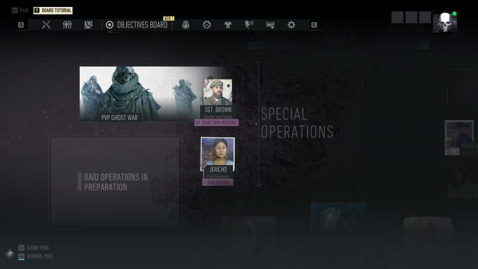 Ghost Recon Breakpoint Raids desk