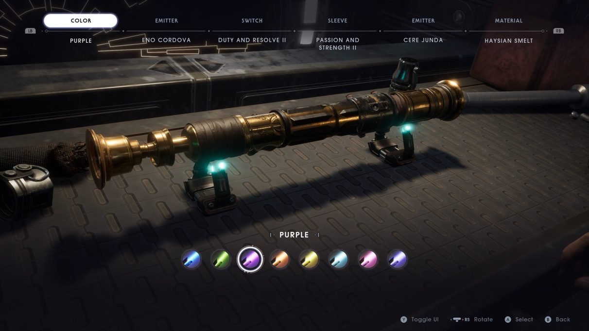 Star Wars Jedi: Fallen Order lightsaber guide - How to unlock more lightsaber colours