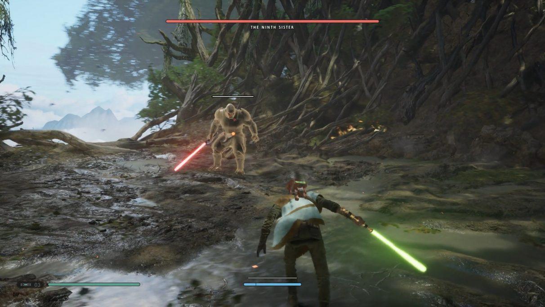Star Wars Jedi: Fallen Order Ninth Sister guide - yellow tint