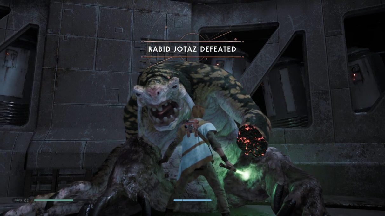 Star Wars Jedi: Fallen Order Rabid Jotaz boss fight guide