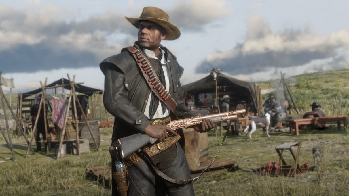 Red Dead Online modes - Name Your Weapon