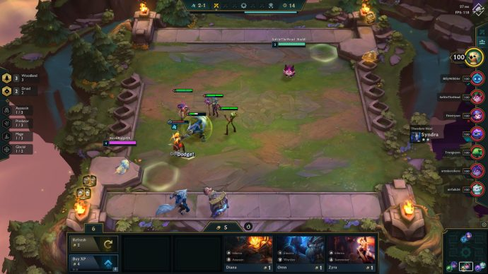 TFT Set 2 fight